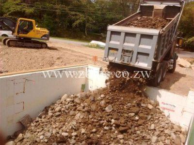 back filling rubble and gravel for sale harare zimbabwe