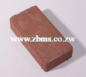 60mm colored red rectangle pavers bricks for sale in harare