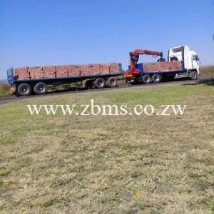 10 000 bricks grabber for hire Zimbabwe