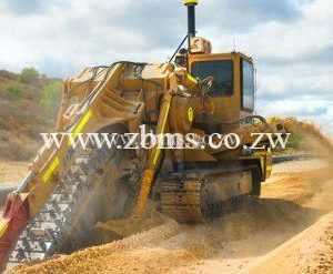 heavy trencher machine for hire on rental basis