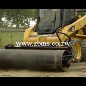 skid steer roller equipment for hire in harare zimbabwe