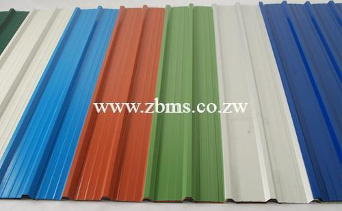 0 4mm By 800mm Dp Chromadek Ibr Roofing Sheet Zimbabwe Building Materials Suppliers