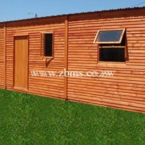 3 roomed wooden cabin houses for sale in Harare Zimbabwe Building Materials Suppliers
