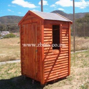 1.2m by 1.2m Guard room wooden cabin for sale harare zimbabwe