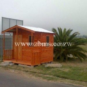 1.2m by 2.6m guard house wendy wooden cabin for sale in harare zimbabwe