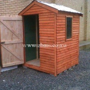 1.3m by 1.3m wooden cabin guard room for sale in harare zimbabwe