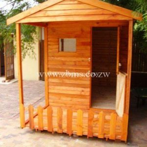 1.8m by 1.8m wooden Kids Play House cabin for sale in harare Zimbabwe