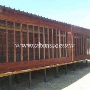 14m by 3m fowl and chicken run wooden cabins for sale in harare zimbabwe