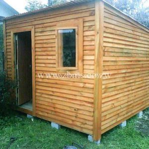 2.2m by 2.2m wooden cabin wendy home for sale in harare zimbabwe