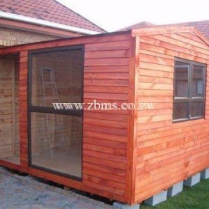 2.4m by 2.4m wooden cabin office with aluminum for sale in harare zimbabwe building material suppliers