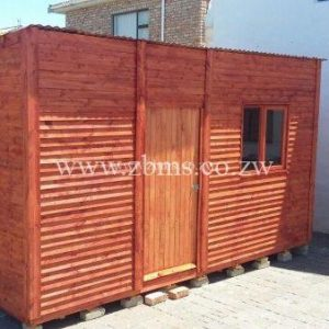 2.4m by 4.8m wooden wendy house wooden cabins for sale in harare zimbabwe