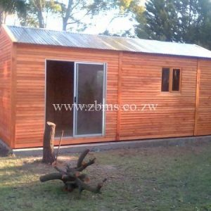 2.4m by 5.8m portable wooden cabin office for sale in harare zimbabwe