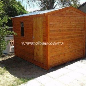 2.5 by 2.5m single roomed wooden cabins for sale harare zimbabwe
