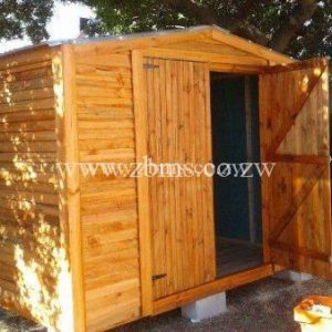 2.8m by 2.8m wooden cabin for construction sites for sale harare zimbabwe