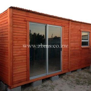 2.8m by 5.6m wooden cabin offices for sale in harare zimbabwe