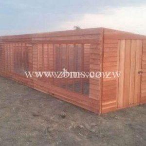 2.8m by 9m wooden chicken fowl run cabin for sale in harare zimbabwe building materials suppliers