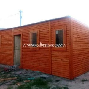 2m by 5.6m two roomed wooden cabin for sale harare zimbabwe