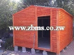 3m by 6m wooden garden store room cabin for sale in harare Zimbabwe