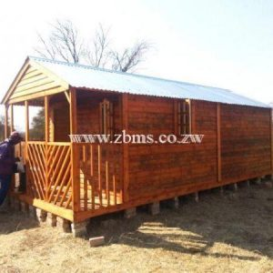 5.2m by 2.6m wooden wendy office cabins for sale in harare zimbabwe