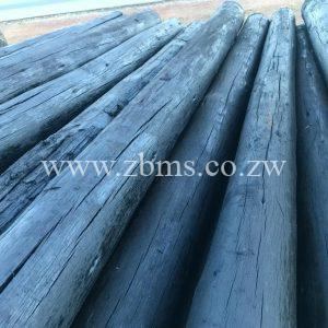 150mm - 200mm by 5m 6m 7m 8m 9m 10m 11m 12m transmission treated poles for sale harare zimbabwe