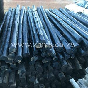 75mm - 100mm by 0.5m 1m 1.5m 1.2m 1.8m 2.1m 2.4m 2.7m 3m 4m 5m 6m 7m treated poles for sale harare zimbabwe