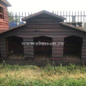 dkwc16 tripple pyramid dog kennel for sale zimbabwe