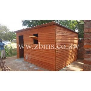WHWC15 2.8m by 4m single room wendy house wooden cabins for sale zimbabwe